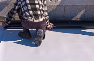 Protecting Roof With TPO Roofing Installed