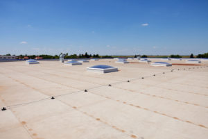 commercial roof roofing coating materials processes